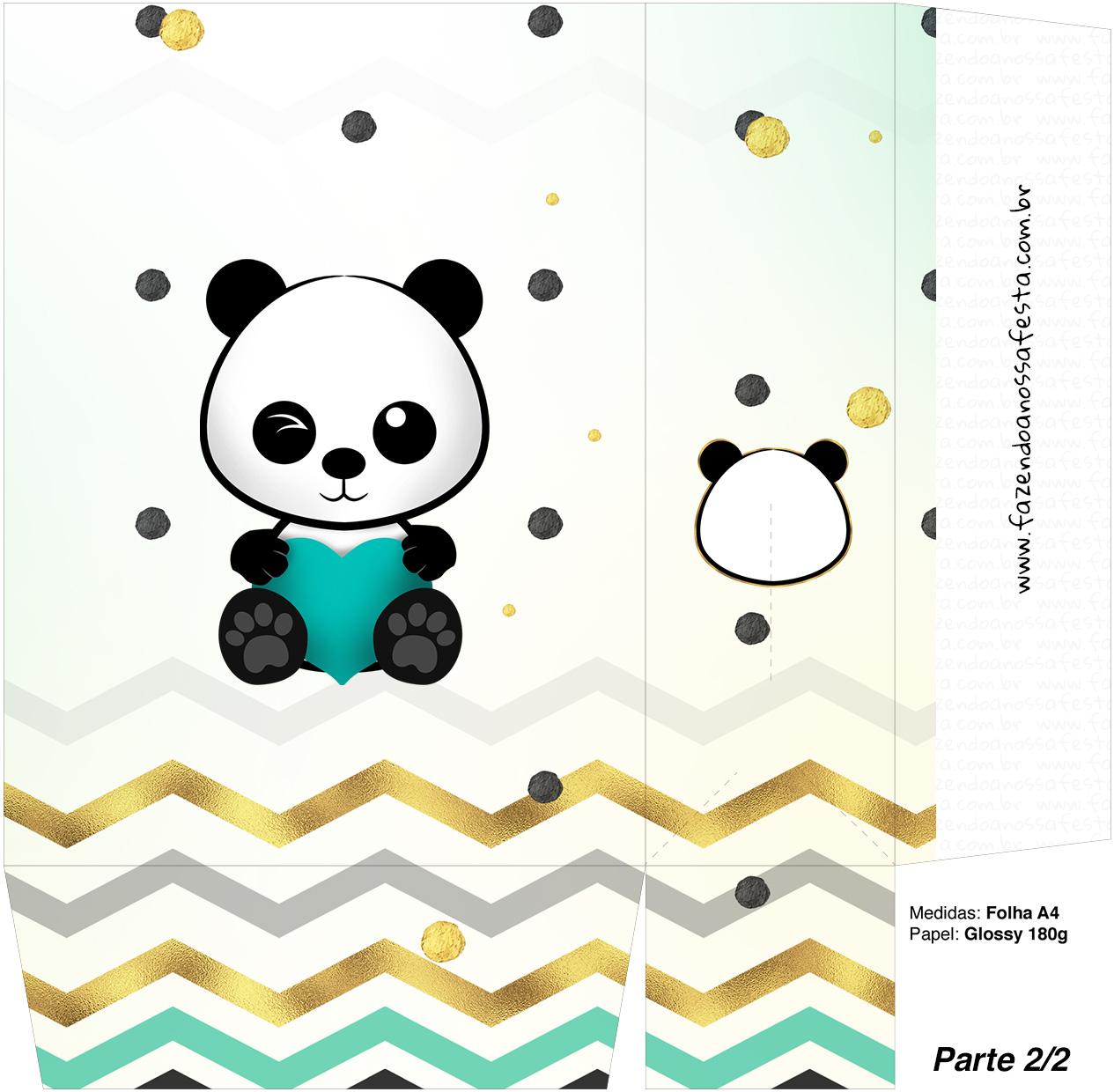 Sacolinha Surpresa 2 2 Panda Menino