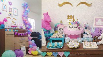 Festa Unicornio da Amanda 30 anos