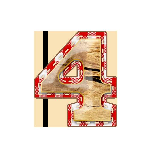 4 Alfabeto Festa Junina