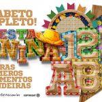 Alfabeto Festa Junina Grátis para Personalizar e Imprimir em Casa