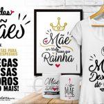 Artes Prontas para Dia das Mães Grátis para Personalizar Canecas Quadros e Camisas