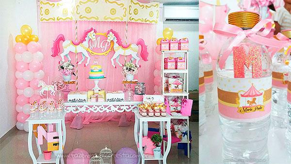 Festa Infantil Carrossel Encantado da Maria Paula