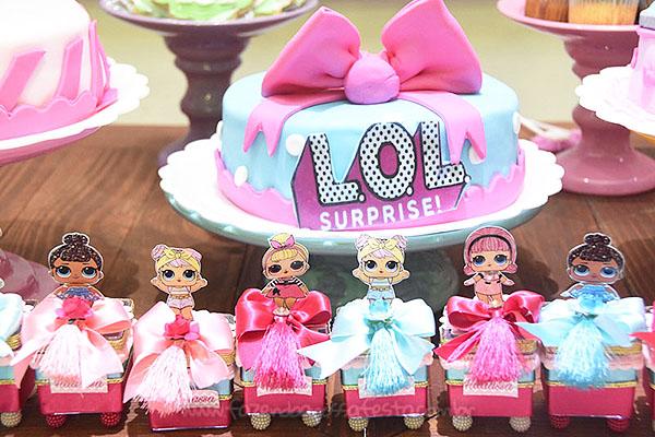 Festa Infantil Lol Surprise da Hadassa 10