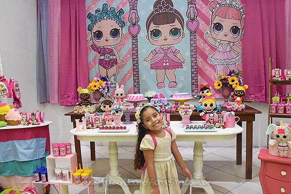 Festa Infantil Lol Surprise da Hadassa 15