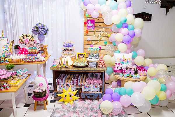 Festa Infantil Unicornio da Fernanda 11