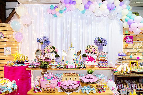 Festa Infantil Unicornio da Fernanda 13