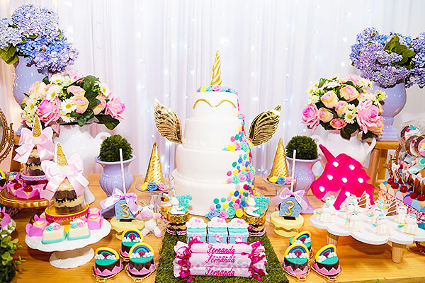 Festa Infantil Unicornio da Fernanda 15
