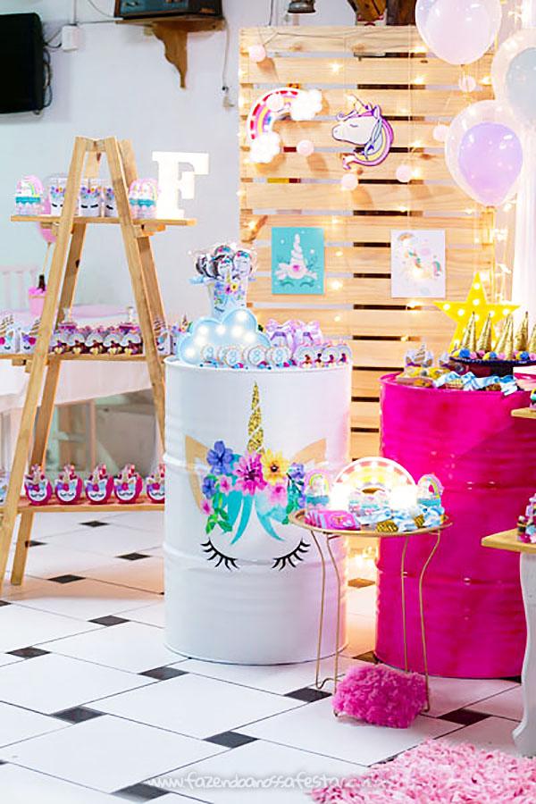 Festa Infantil Unicornio da Fernanda 18
