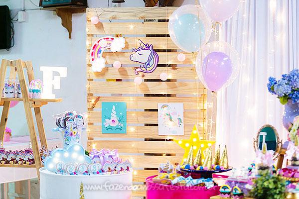 Festa Infantil Unicornio da Fernanda 20