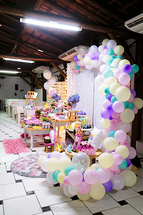 Festa Infantil Unicornio da Fernanda 34