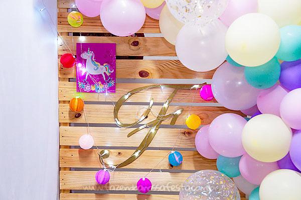 Festa Unicornio da Fernanda 5