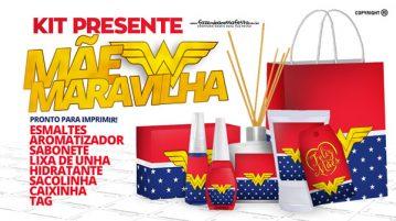 Kit Presente Mae Maravilha