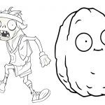 Livrinho para Colorir Plants vs Zombies 5
