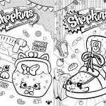 Revista para Colorir Shopkins 1