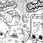 Livrinho para Colorir Shopkins 2