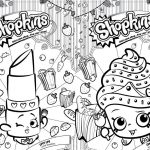 Revista para Colorir Shopkins 4