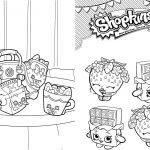 Livrinho para Colorir Shopkins 5