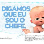 Plaquinhas Poderoso Chefinho para Chá de bebê 9