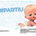 Plaquinhas Poderoso Chefinho para Chá de bebê 12