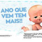 Plaquinhas Poderoso Chefinho para Chá de bebê 13