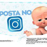 Plaquinhas Poderoso Chefinho para Chá de bebê 15