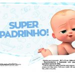 Plaquinhas Poderoso Chefinho Chá de bebê 177