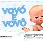 Plaquinhas Cha de bebe Poderoso Chefinho 21