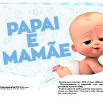 Plaquinhas Cha de bebe Poderoso Chefinho 22