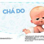 Plaquinhas Cha de bebe Poderoso Chefinho 23