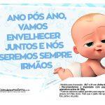 Plaquinhas Cha de bebe Poderoso Chefinho 25