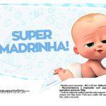 Plaquinhas Cha de bebe Poderoso Chefinho 26