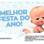 Plaquinhas Cha de bebe Poderoso Chefinho 27
