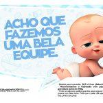 Plaquinhas Cha de bebe Poderoso Chefinho 29