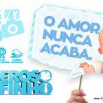 Plaquinhas Poderoso Chefinho para Chá de bebê Grátis para Imprimir