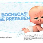 Plaquinhas Poderoso Chefinho para Cha de bebe 3