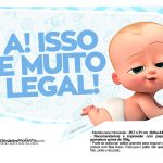 Plaquinhas Poderoso Chefinho para Cha de bebe 4