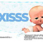 Plaquinhas Poderoso Chefinho para Cha de bebe 5