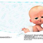Plaquinhas Poderoso Chefinho para Cha de bebe 6
