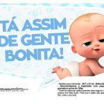 Plaquinhas Poderoso Chefinho para Cha de bebe 8