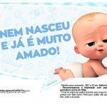 Plaquinhas divertidas Cha de bebe Poderoso Chefinho 17