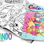 Livrinho para Colorir Shopkins Grátis para Imprimir em Casa