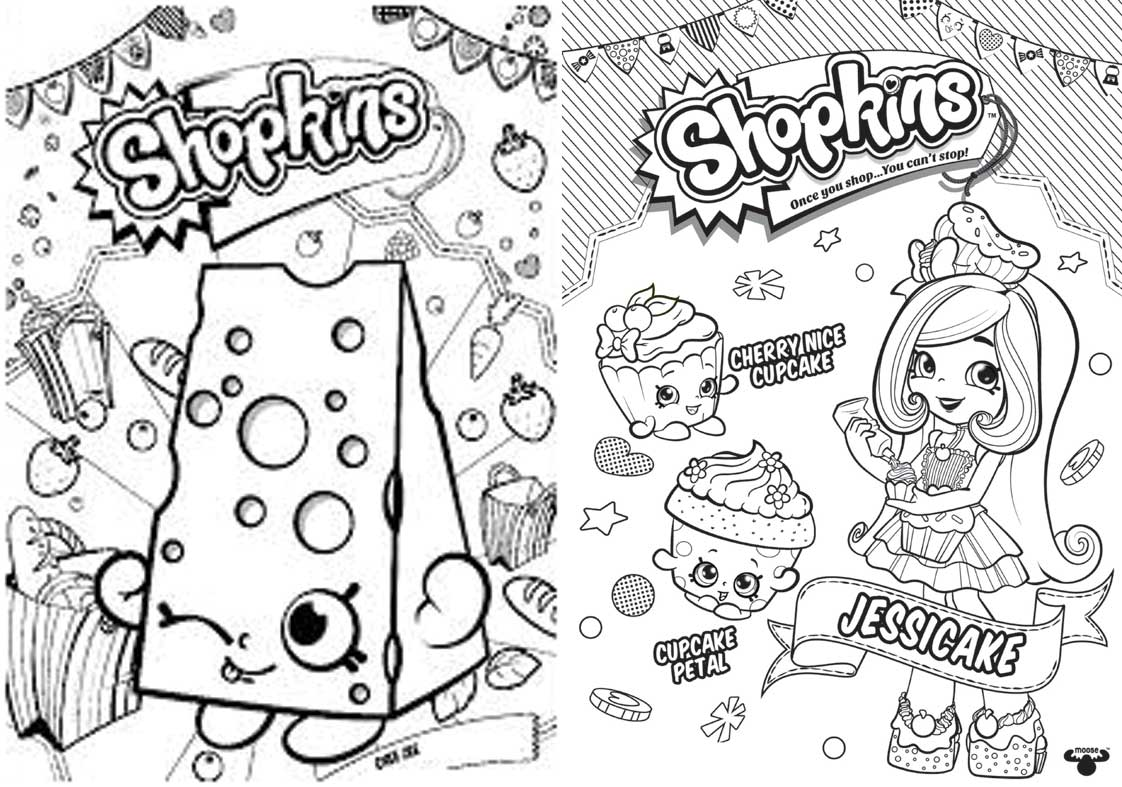 Revista para Colorir Shopkins 8