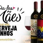Rótulo Cerveja e Vinho para Dia das Mães Grátis para Imprimir