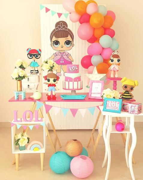 10 lol surprise mini table decoracao