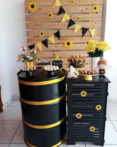 16 abelhinha mini table decoracao