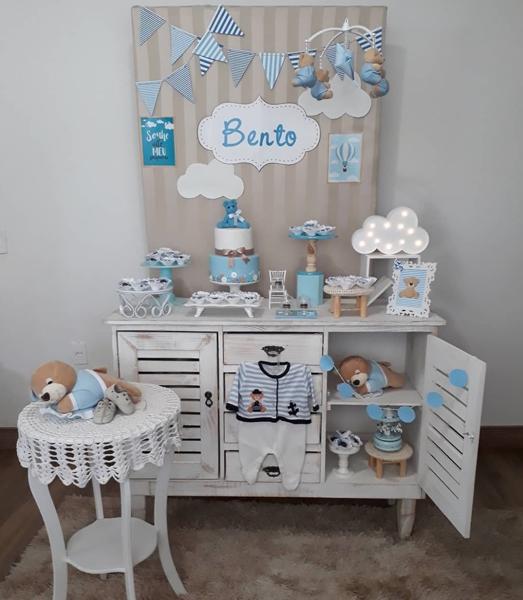 2 decoracao mini table cha de bebe