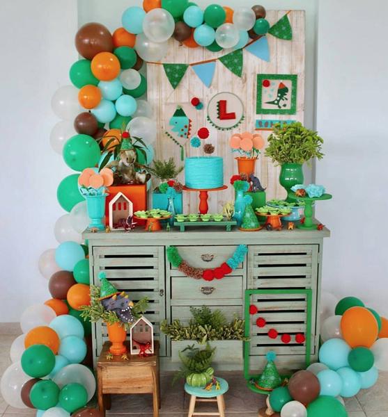 20 decoracao mini table dinossauro 1