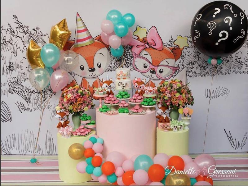 3 decoracao mini table raposinha