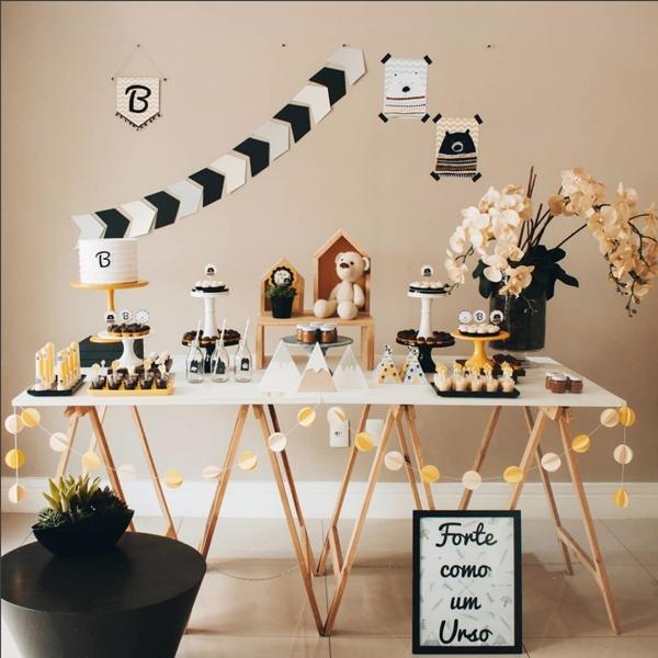 9 decoracao mini table urso
