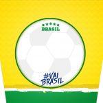 Balde de Pipoca Copa do Mundo Kit Festa
